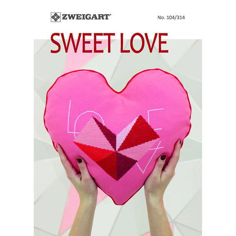 104.314 ZWEIGART Sweet Love Booklet