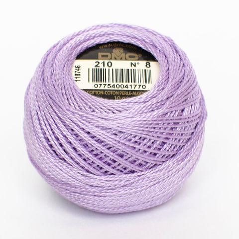 Perle No.8  210  Light Lavender