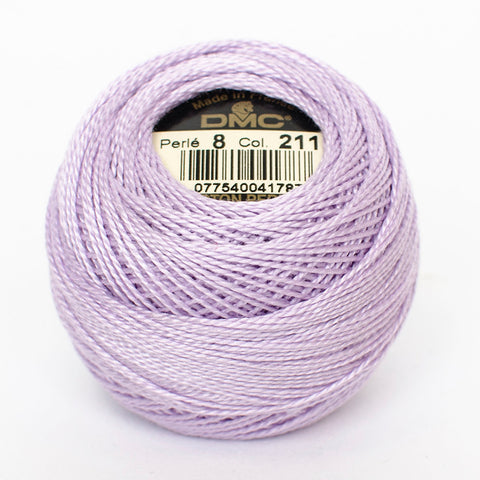 Perle No.8  211  Medium Lavender