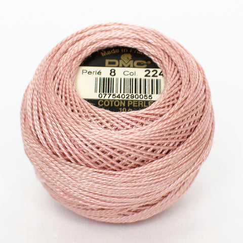 Perle No.8  224 Light Shell Pink