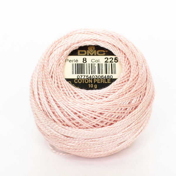 Perle No.8  225 Ultra Very Shell Pink