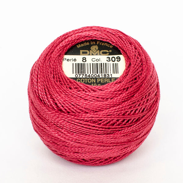 Perle No.8  309 Dark Rose