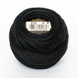 Perle No.8  310 Black
