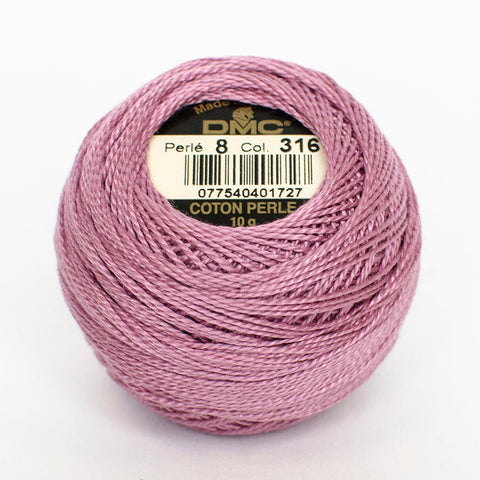 PERLE NO.12 316 Medium Antique Mauve