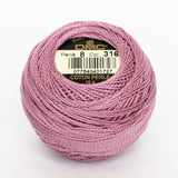 Perle No.8  316 Medium Antique Mauve