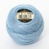 Perle No.8  3325 Light Baby Blue