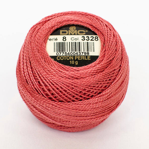 Perle No.8  3328 Dark Salmon
