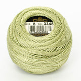Perle No.8  3348 Light Yellow Green