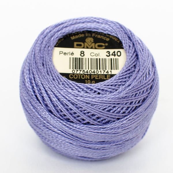 Perle No.8  340 Medium Blue Violet