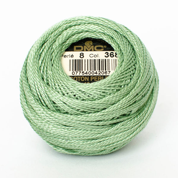 Perle No.8  368 Light Pistachio Green