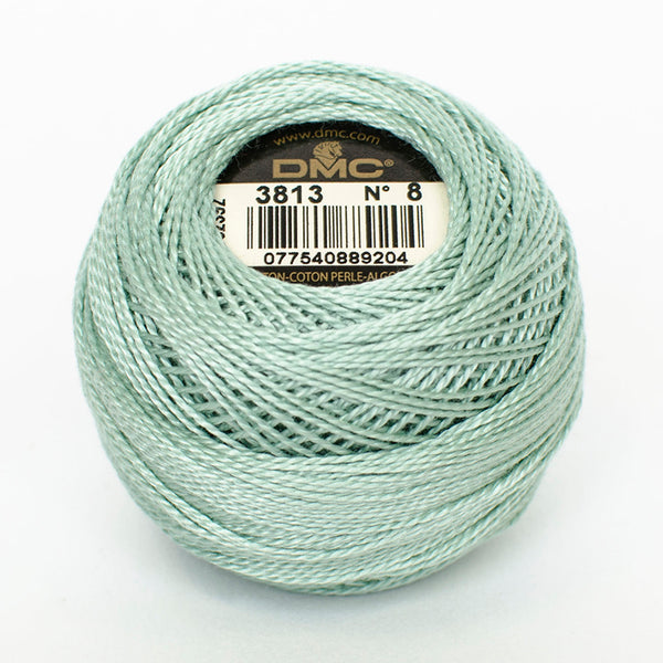 PERLE NO.12 3813 Light Blue Green