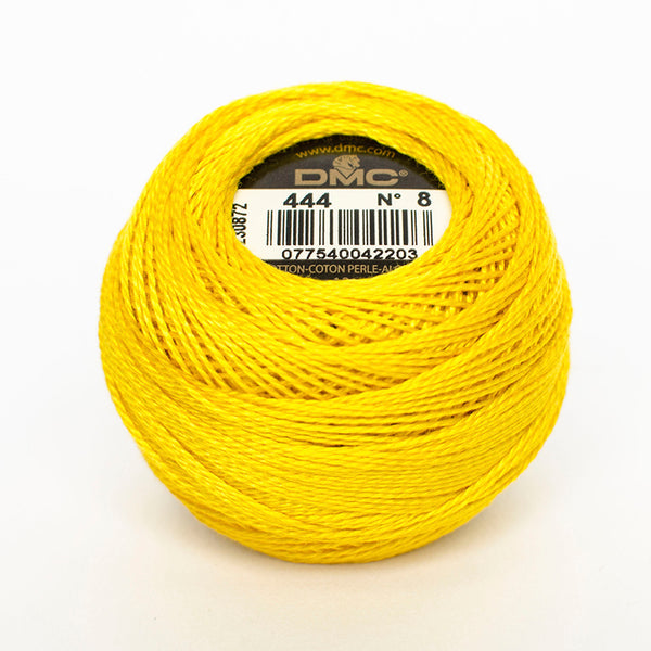 Perle No.8  444 Dark Lemon