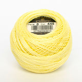 Perle No.8  445 Light Lemon