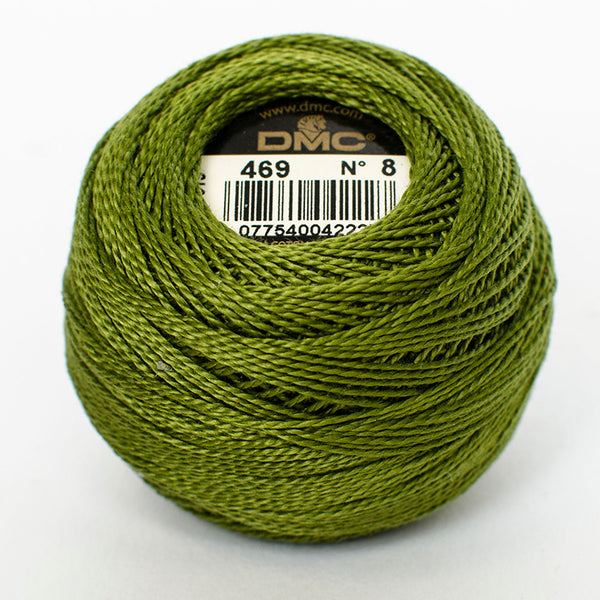 Perle No.8  469 Avocado Green