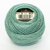 PERLE NO.12 503 Medium Blue Green