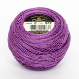 Perle No.8  552 Medium Violet