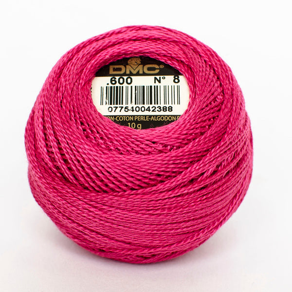Perle No.8  600 Very Dark Cranberry