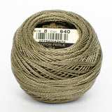Perle No.8  640 Very Dark Beige Grey