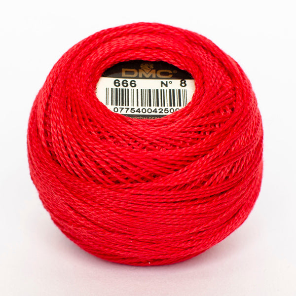 PERLE NO.12 666 Bright Red