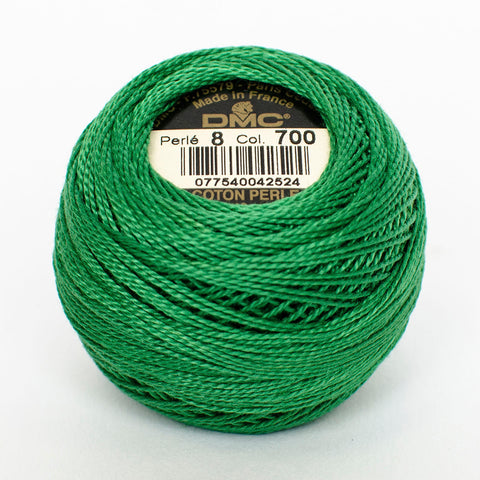 Perle No.8  700 Bright Green