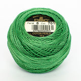 Perle No.8  701 Light Green