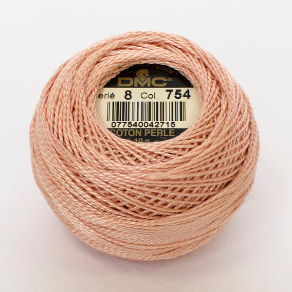 Perle No.8  754 Light Peach