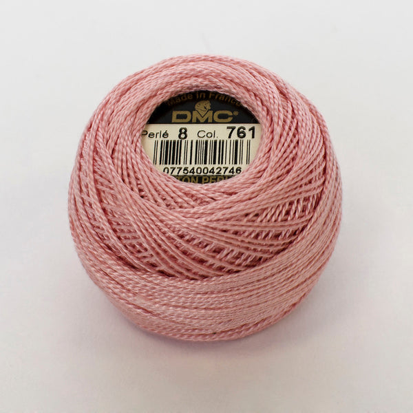 Perle No.8  761 Light Salmon