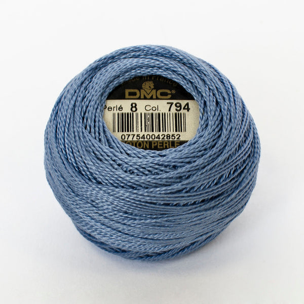 Perle No.8  794 Light Cornflower Blue