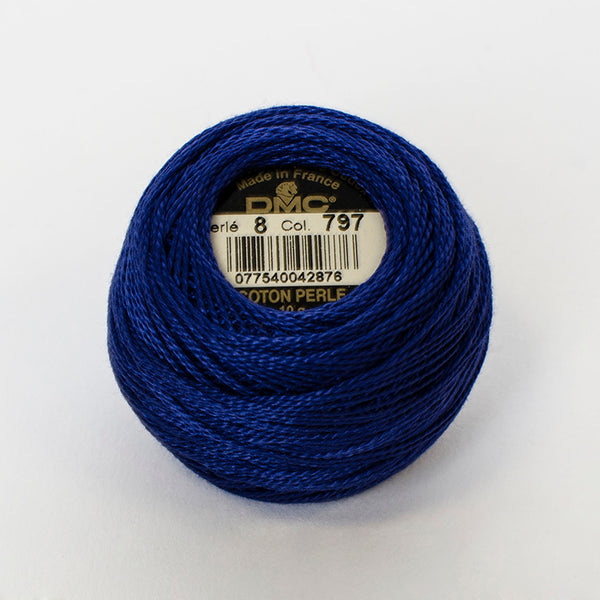 Perle No.8  797 Royal Blue