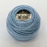 Perle No.8  800 pale Delft Blue