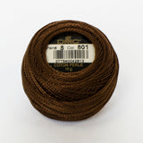 Perle No.5  801 Dark Coffee Brown