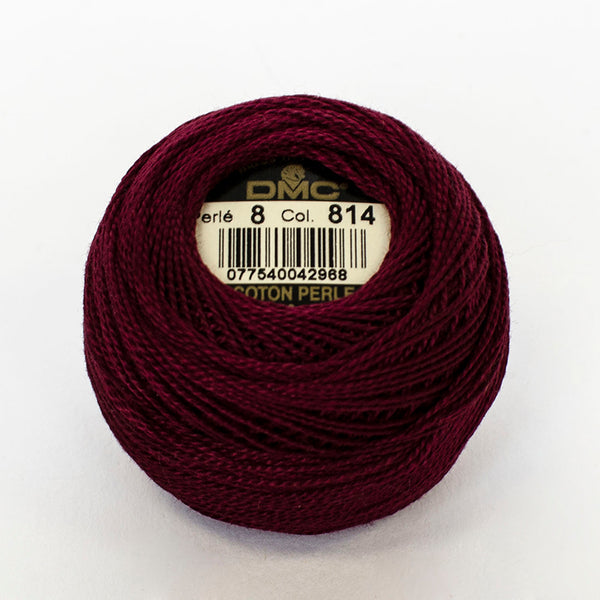 Perle No.8  814 Dark Garnet