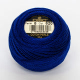 Perle No.8  820 Very Dark Royal Blue