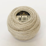 Perle No.8  822 Light Beige Grey