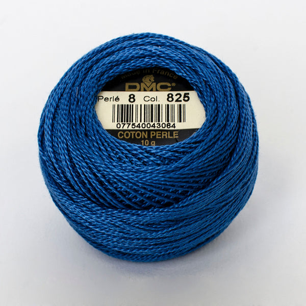 Perle No.8  825 Dark Blue