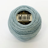 Perle No.8  828 Ultra Very Light Blue