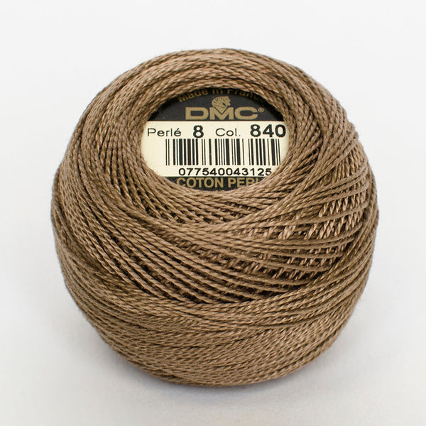 Perle No.8  840 Medium Beige Brown