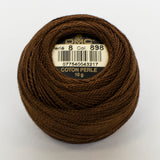Perle No.8  898 Very Dark Coffee Brown