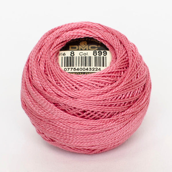 Perle No.8  899 Medium Rose
