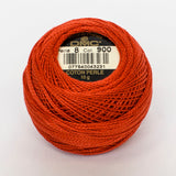 Perle No.8  900 Dark Burnt Orange