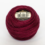 Perle No.8  902 Very Dark Garnet