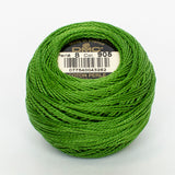 Perle No.8  905 Dark Parrot Green