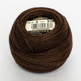 Perle No.8  938 Ultra Dark Coffee Brown