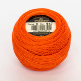 Perle No.8  947 Burnt Orange