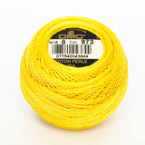 Perle No.8  973 Bright Canary