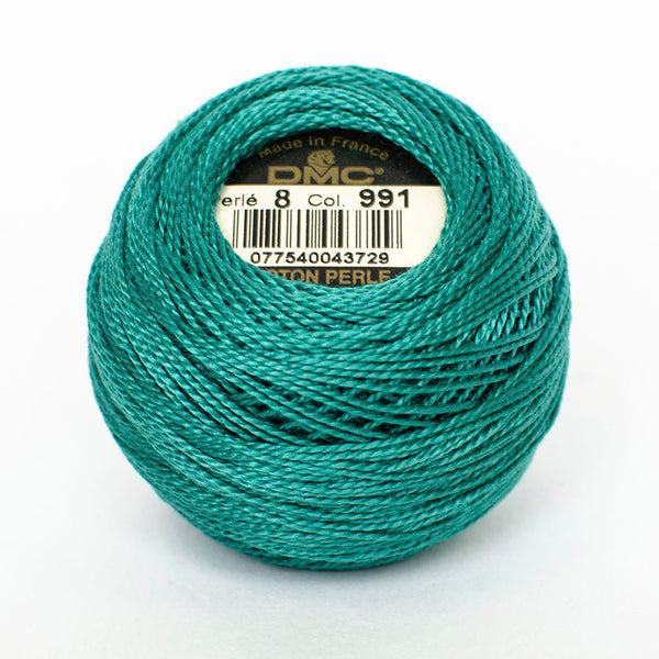 Perle No.8  991 Dark Aquamarine