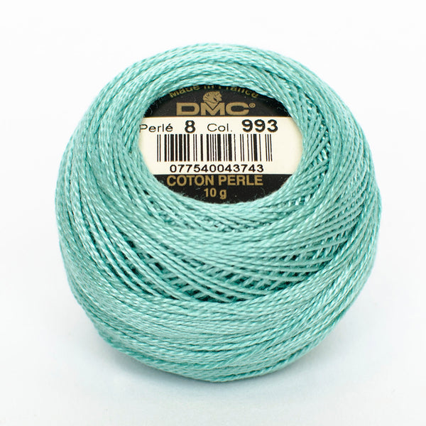 Perle No.8  993 Very Light Aquamarine