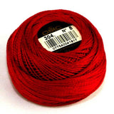 Perle No.8  304 Medium Red