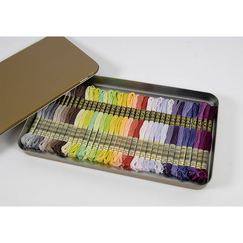 117ZB(117MC) Metallic Box with 35 skeins