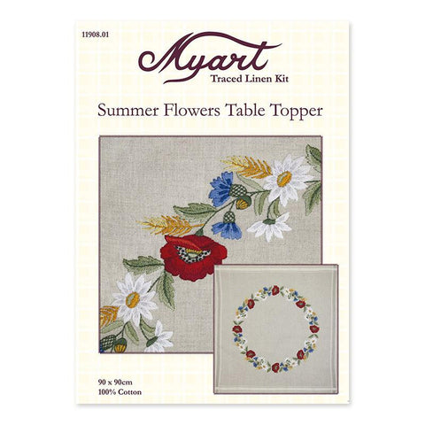 Summer Flowers Table Topper 11908.01